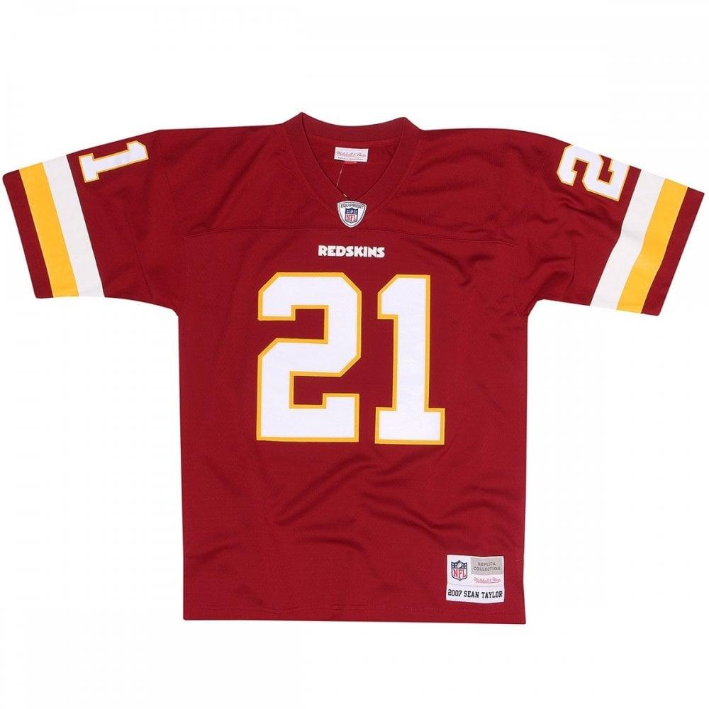 0dc903c9e Mitchell   Ness NFL Washington Redskins Sean Taylor 2007 Legacy ...