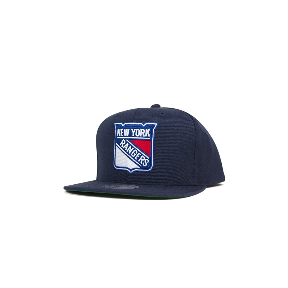 1c627a2c749ff Mitchell   Ness NHL New York Rangers Wool Solid Snapback - Teams ...