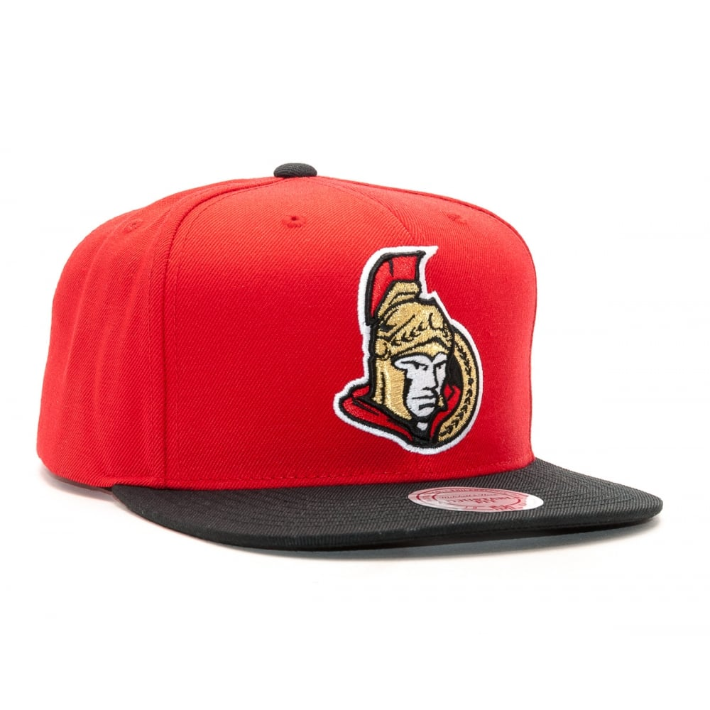 Mitchell   Ness NHL Ottawa Senators 2017 Snapback Cap - Headwear ... f9f976cd553