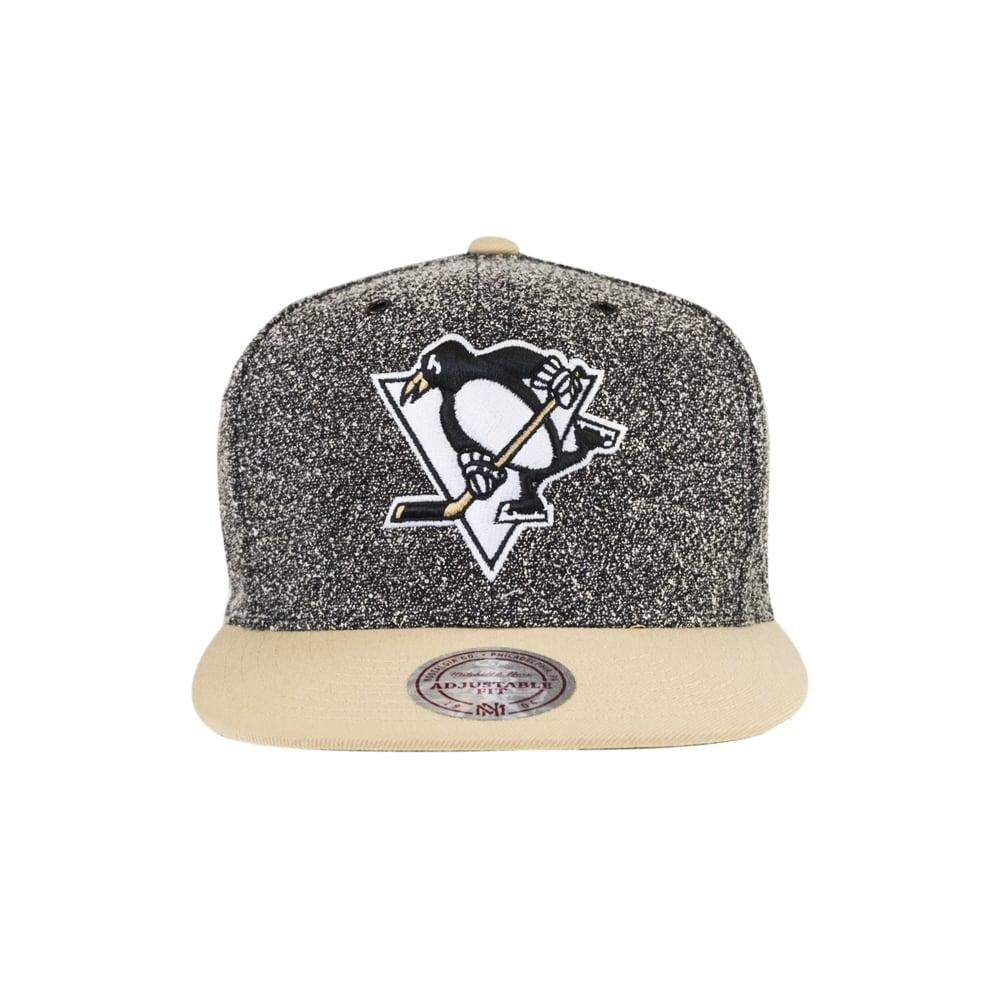 Mitchell   Ness NHL Pittsburgh Penguins Static 2 Tone Snapback ... fb40e1cbe5ca