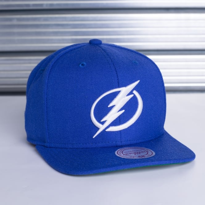 Mitchell & Ness NHL Tampa Bay Lightning Wool Solid Snapback