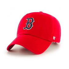 MLB Boston Red Sox Clean Up Adjustable Red Cap