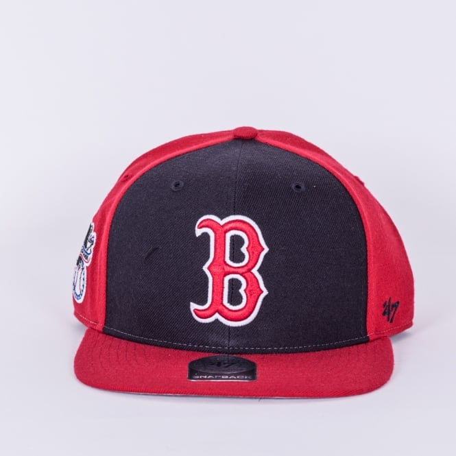 '47 MLB Boston Red Sox Sure Shot Accent Captain Snapback Cap