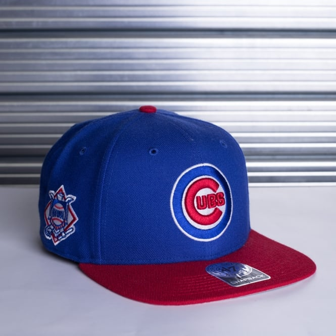 '47 MLB Chicago Cubs 2 Tone Sure Shot Adjustable Snapback