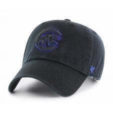 17e5da91023 MLB Chicago Cubs Black Clean Up Adjustable Cap.