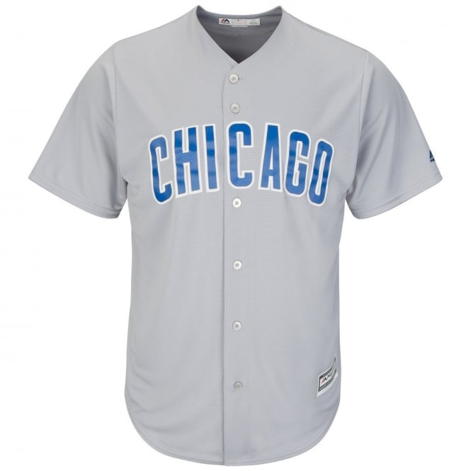 online store 2adf0 1b5c2 MLB Chicago Cubs Cool Base Road Jersey