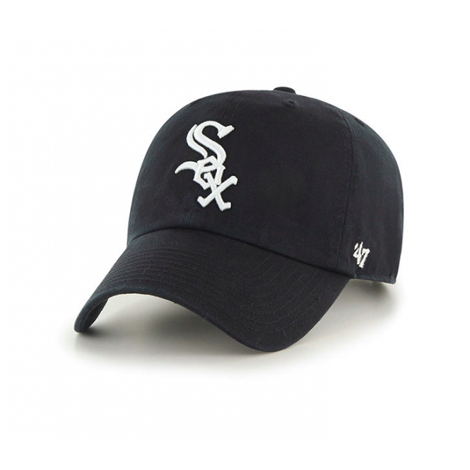 '47 MLB Chicago White Sox Clean Up Adjustable Cap