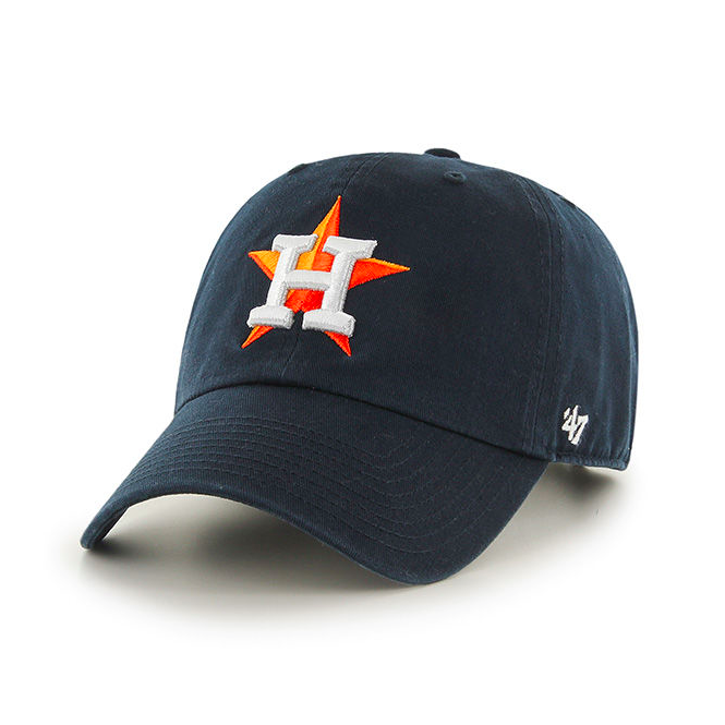 '47 MLB Houston Astros Clean Up Adjustable Cap