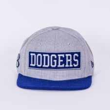 MLB Los Angeles Dodgers 9Fifty Box Word Snapback Cap