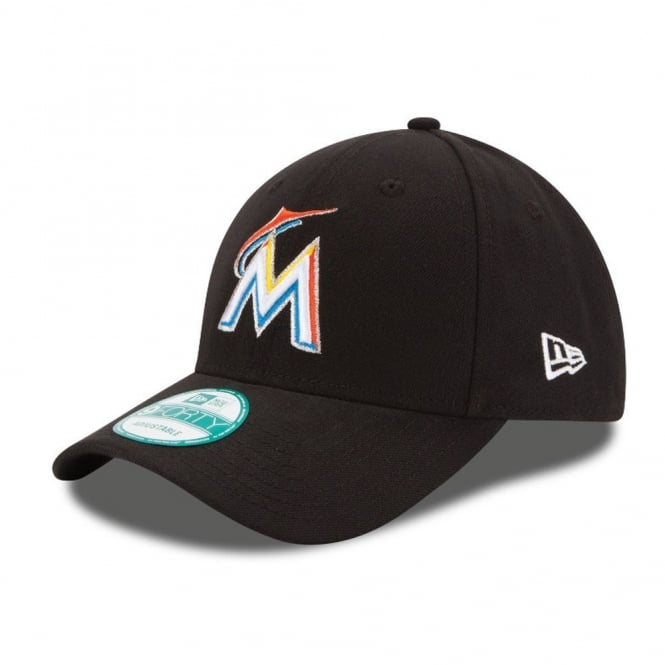 New Era MLB Miami Marlins The League 9Forty Adjustable Cap