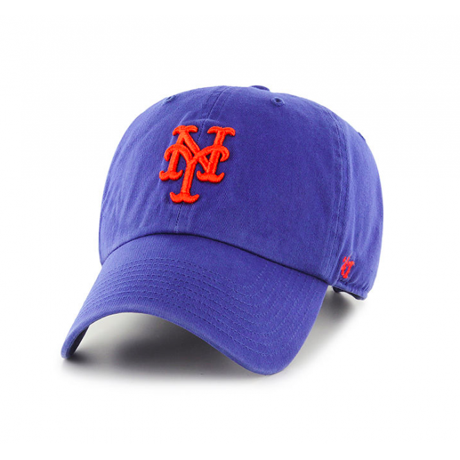 '47 MLB New York Mets Clean Up Adjustable Cap