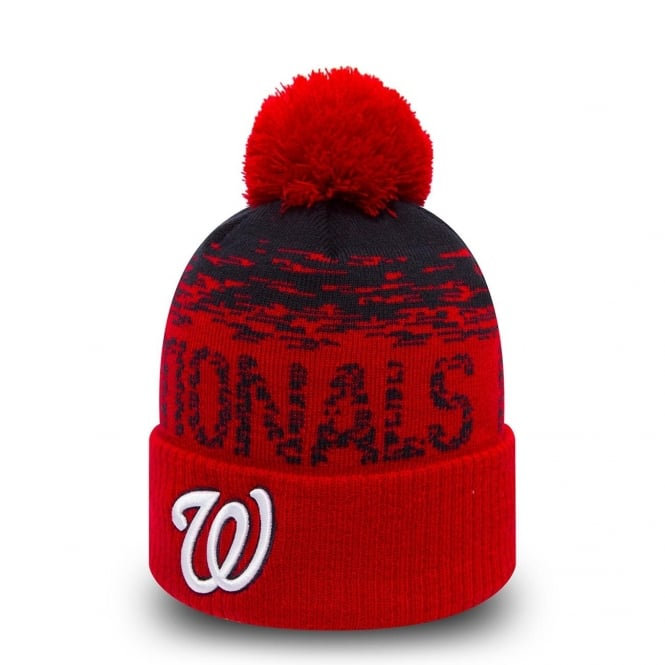 New Era MLB Washington Nationals On-Field Sport Knit