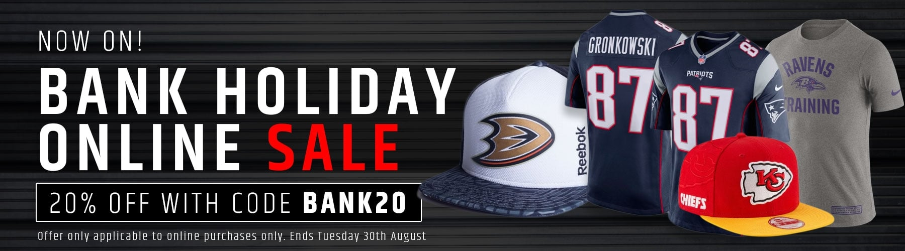 Bank Holiday Sale