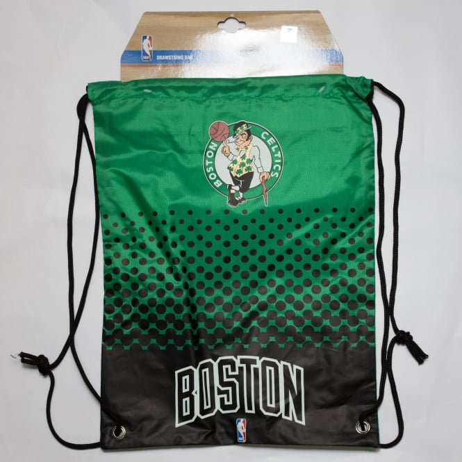 Forever Collectibles NBA Boston Celtics Fade Drawstring Backpack