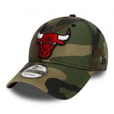 NBA Chicago Bulls Camouflage 9Forty Adjustable Cap