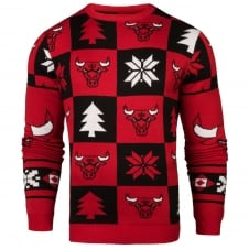 NBA Chicago Bulls Patches Ugly Sweater