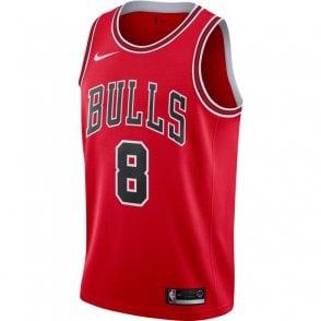 timeless design 00de2 c977f Nike NBA New York Knicks Kristaps Porzingis Swingman Jersey ...