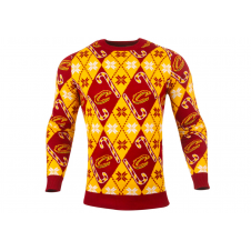 NBA Cleveland Cavaliers Candy Cane Ugly Sweater