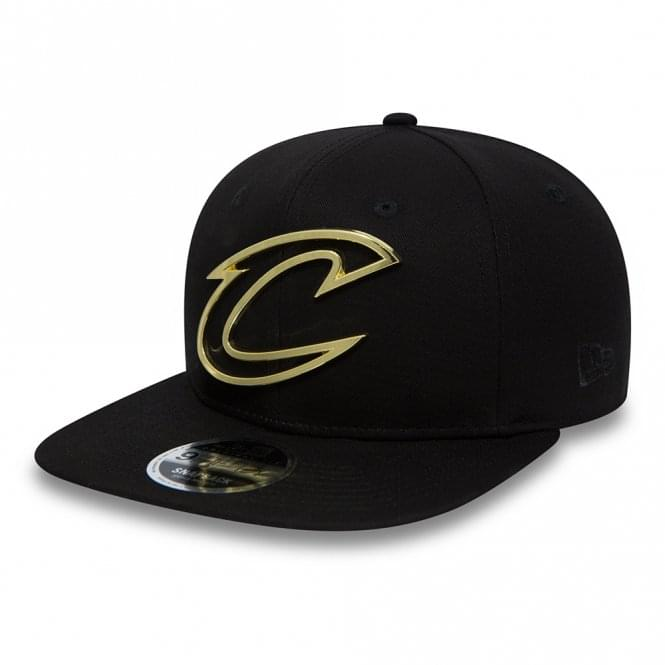 New Era NBA Cleveland Cavaliers Gold Badge 9Fifty Snapback