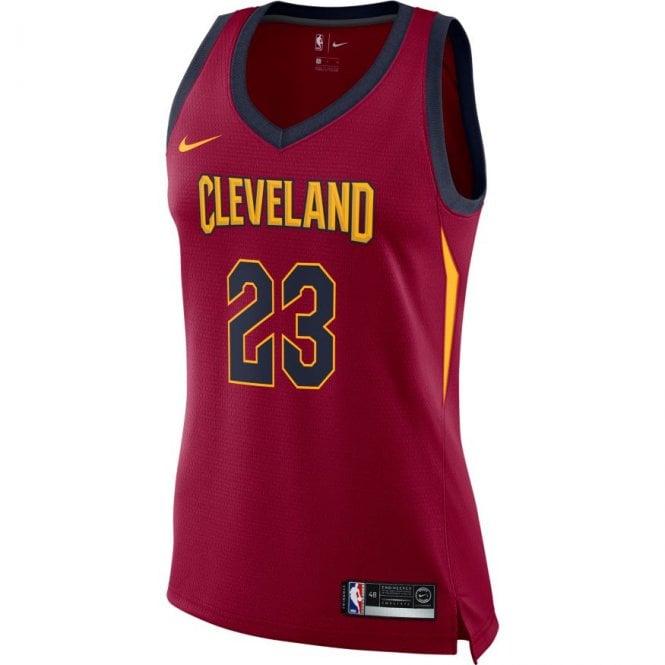 quality design 86809 0727b NBA Cleveland Cavaliers LeBron James Swingman Women's Jersey - Icon Edition