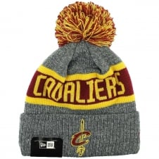 NBA Cleveland Cavaliers Marl Cuff Bobble Knit