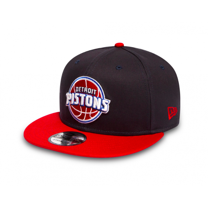 New Era NBA Detroit Pistons Team 9Fifty Adjustable Snapback Cap