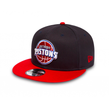 NBA Detroit Pistons Team 9Fifty Adjustable Snapback Cap