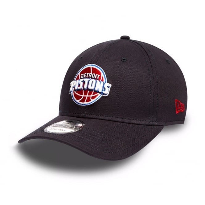 New Era NBA Detroit Pistons Team 9Forty Adjustable Cap