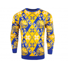 NBA Golden State Warriors Candy Cane Ugly Sweater