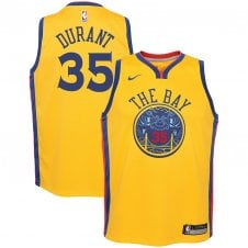 f609e6e58a6 NBA Golden State Warriors Kevin Durant Youth Swingman Jersey - City Edition