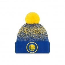 NBA Golden State Warriors On-Court 2017 Pom Knit