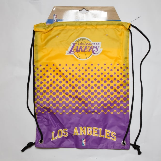 Forever Collectibles NBA Los Angeles Lakers Fade Drawstring Backpack