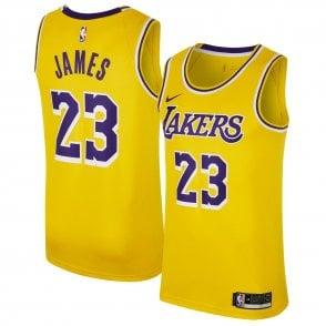 sale retailer 0217c 6b942 Nike NBA Los Angeles Lakers LeBron James Youth Swingman ...