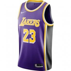 ddf120d2861 NBA Los Angeles Lakers LeBron James Swingman Jersey - Statement Edition