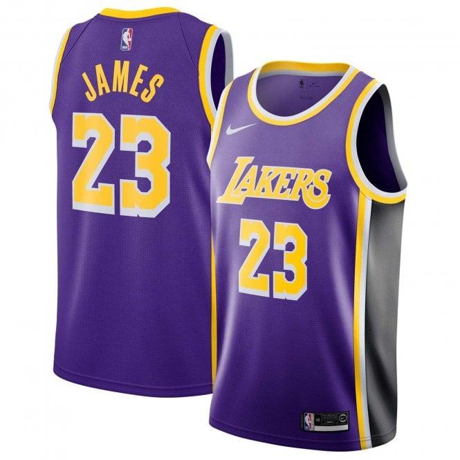 timeless design 54e32 5b037 NBA Los Angeles Lakers LeBron James Youth Swingman Jersey - Statement  Edition