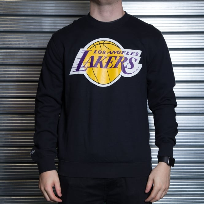 Mitchell & Ness NBA Los Angeles Lakers Team Logo Crew