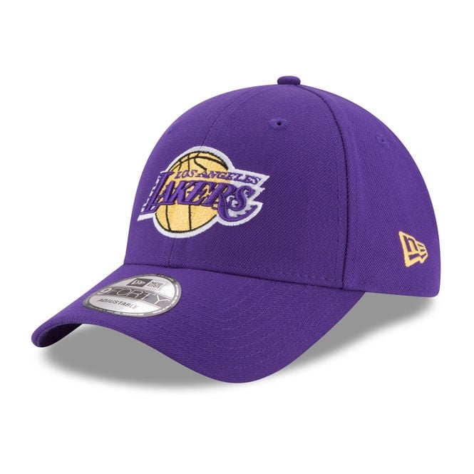 New Era NBA Los Angeles Lakers The League 9Forty Adjustable Cap