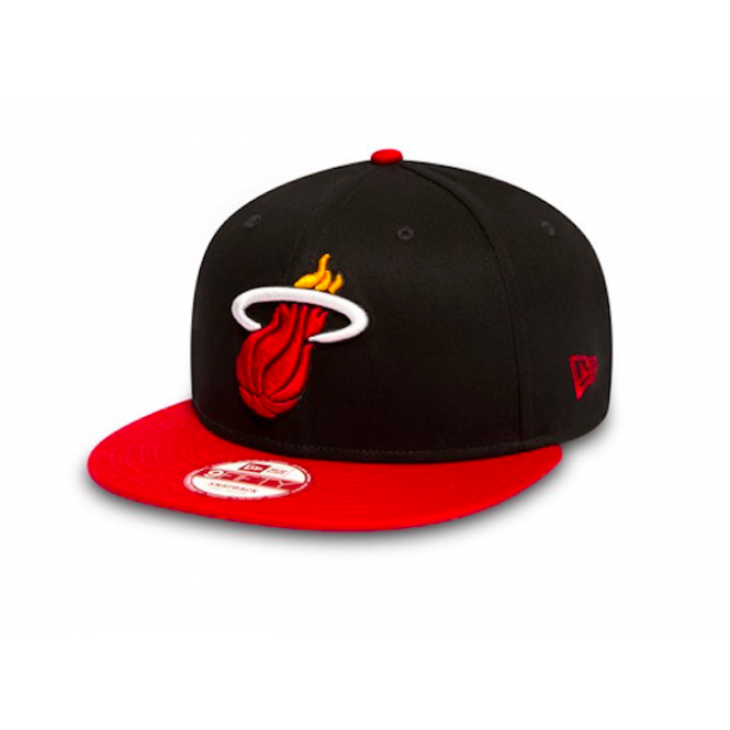 New Era NBA Miami Heat Team 9Fifty Adjustable Snapback Cap