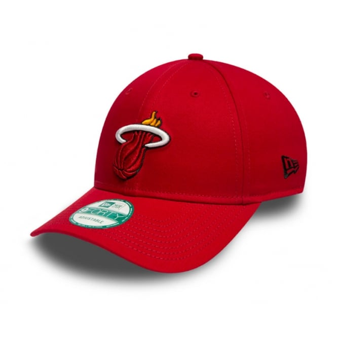 New Era NBA Miami Heat Team 9Forty Adjustable Cap