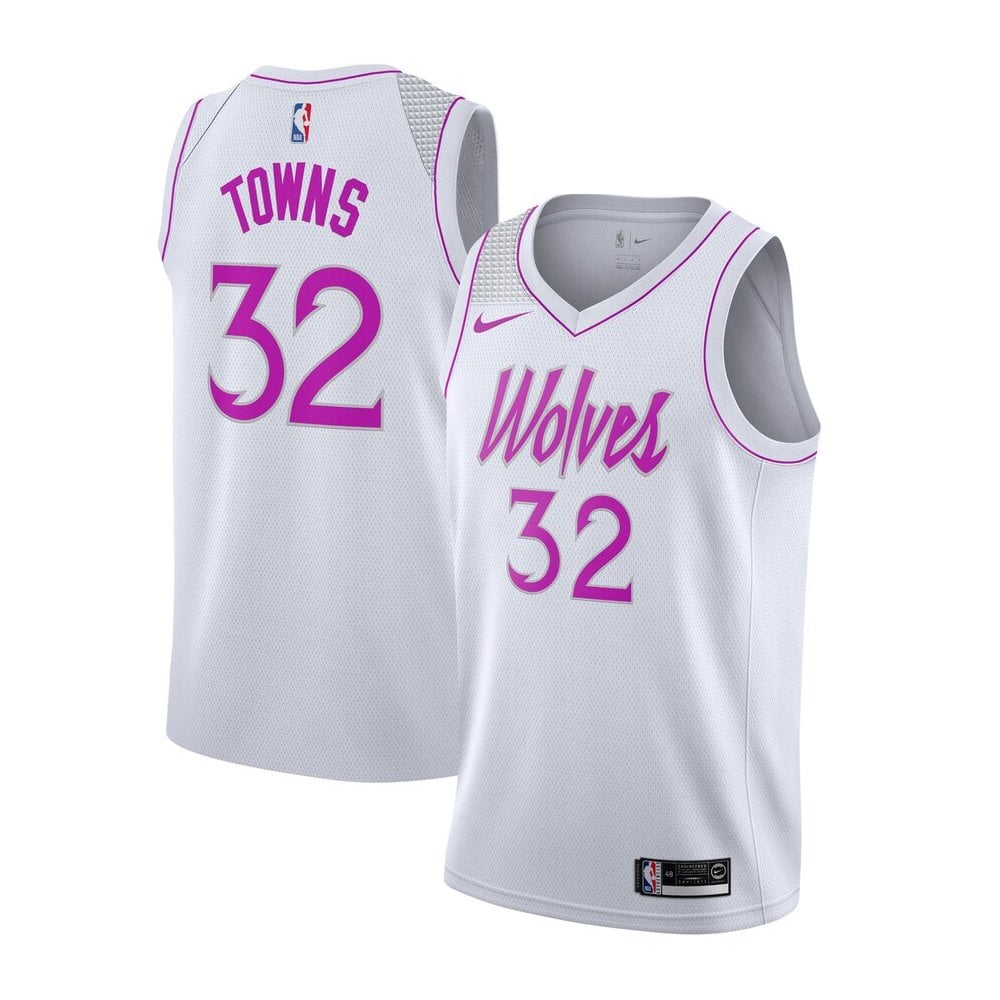 Nike Nba Minnesota Timberwolves Karl Anthony Towns Youth Swingman