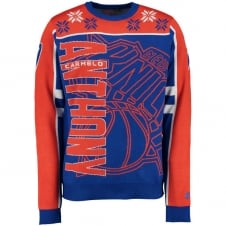 NBA New York Knicks Carmelo Anthony Ugly Sweater
