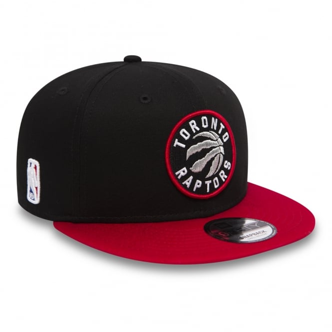 New Era NBA Toronto Raptors Black Base 9Fifty Snapback Cap