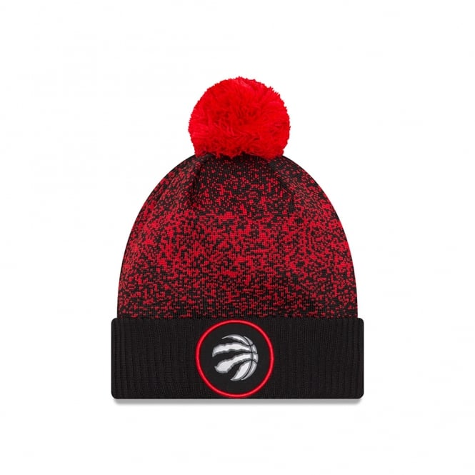 New Era NBA Toronto Raptors On-Court 2017 Pom Knit