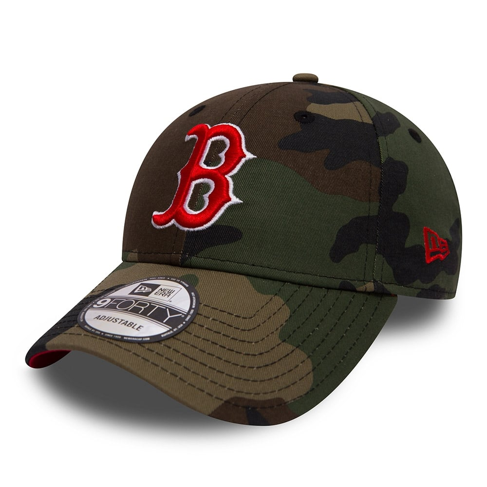 7fb1cad9567 New Era MLB Boston Red Sox Camo 9Forty Adjustable Cap - Adjustable ...