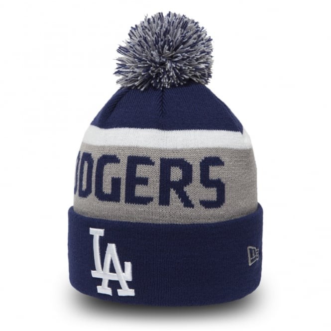 New Era MLB Los Angeles Dodgers Team Jake Cuff Knit