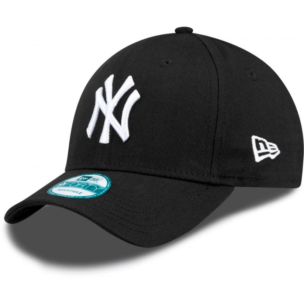 New Era MLB New York Yankees Black The League 9Forty Adjustable Cap ... 2e882ebe928