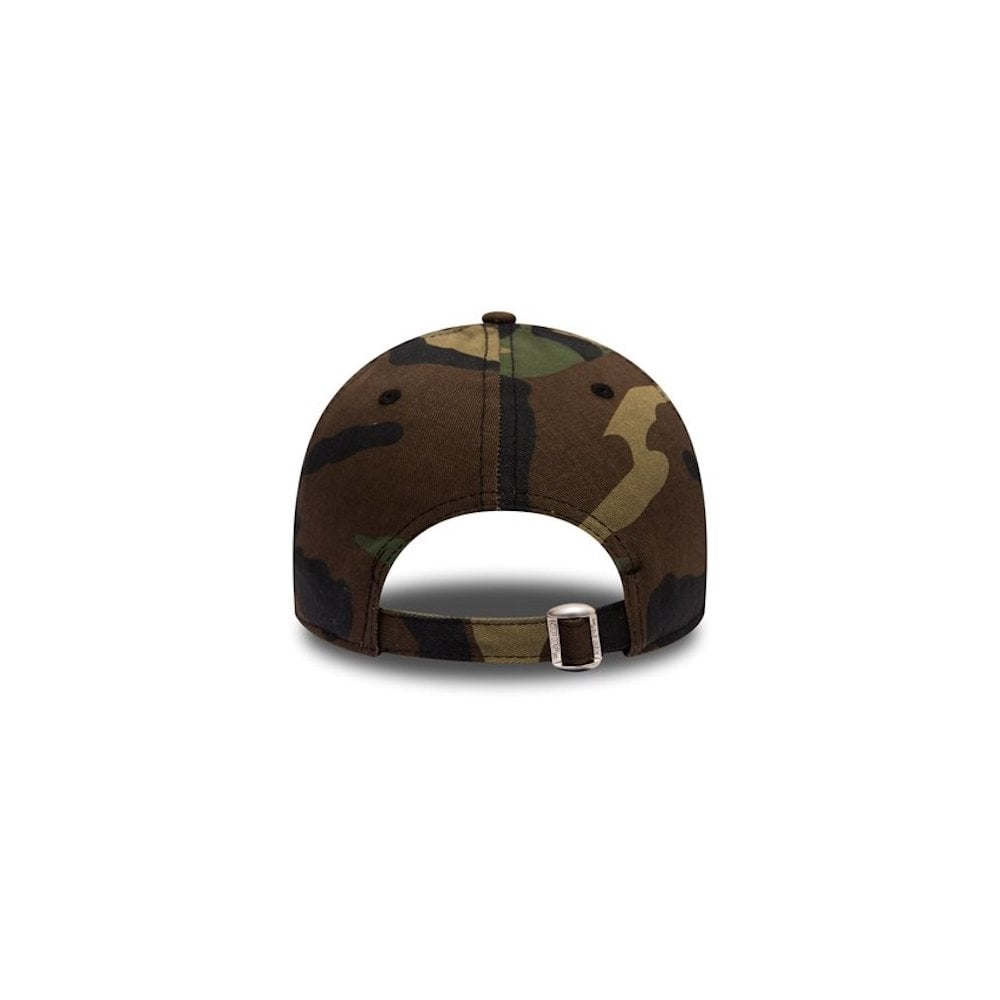 b012984f8d9 New Era MLB New York Yankees Camo Essential 9Forty Adjustable Cap ...