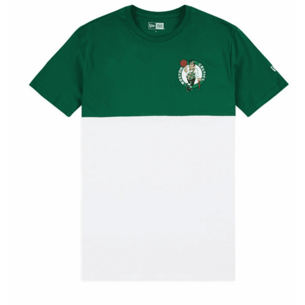wholesale dealer 653cd 6c339 New Era NBA Boston Celtics Colour Block T-Shirt
