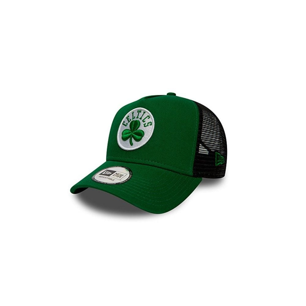 b42ed64dbf60a New Era NBA Boston Celtics Essential Team A Frame Trucker Cap ...
