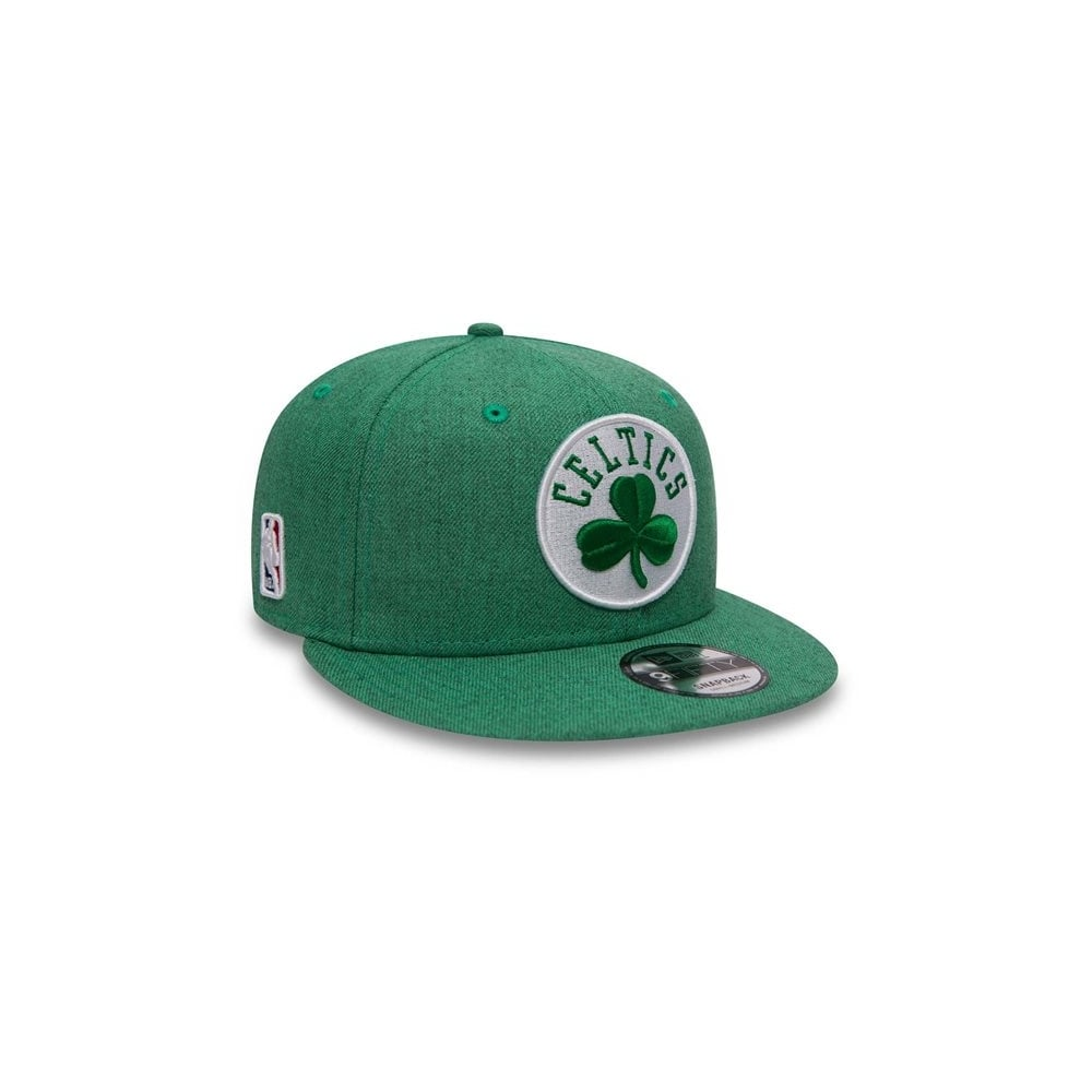 952a7bba New Era NBA Boston Celtics Team Heather 9Fifty Snapback Cap ...